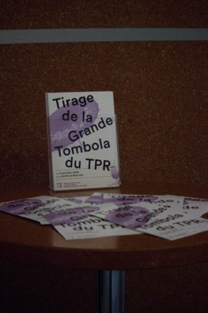 Grande Tombola, 21 juin 2016 - TPR